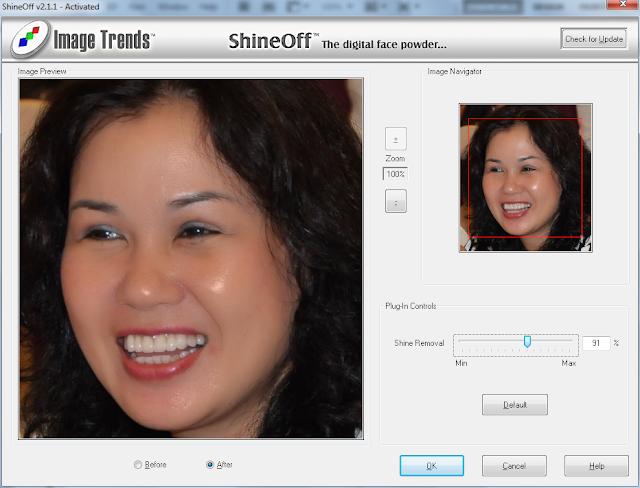Tẩy trắng răng, xử bóng mặt trong Photoshop