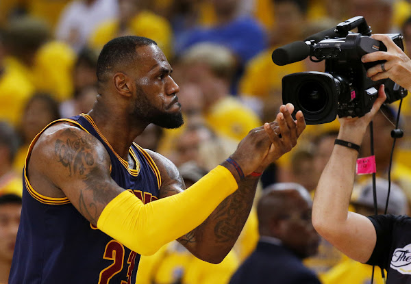 Series Tied 11 After LeBrons TripleDouble in Game 2 of the NBA Finals
