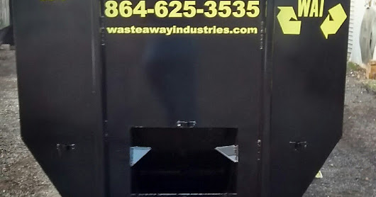 WasteAway 30 foot Roll-Off Dumpsters