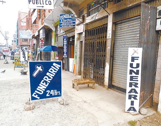 Las funerarias se triplicaron en los últimos cinco años en El Alto