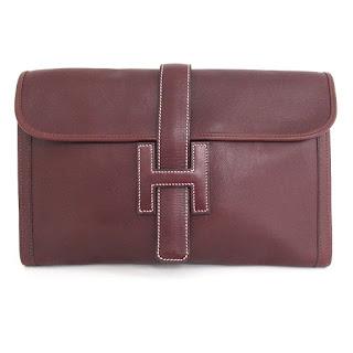 Hermès Jige Swift PM Clutch Bag