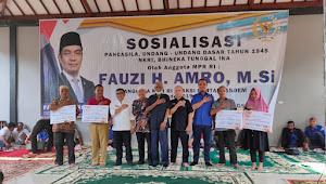 Anggota MPR RI Ini Bantu Masjid Hingga Madrasah di Muratara
