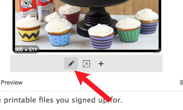 Making photo clickable in email
