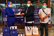 Inez Cosmetic Aceh Bantu Hand Sanitizer Buat Tenaga Medis di Aceh