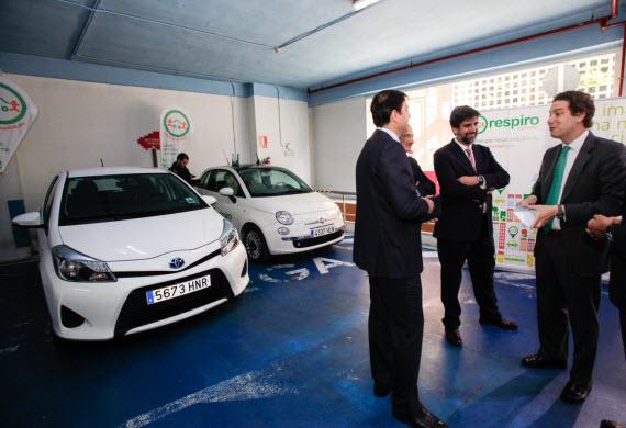 Sistemas de car sharing o carpooling en Madrid para reducir costes y emisiones