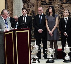 Pasaban, Lorenzo y la selección española de fútbol, premios Nacionales 2010