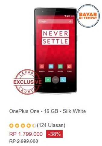 OnePlus One 3GB 16GB