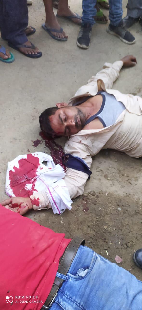 थाना अतरौलिया के मीरपुर ग्रामसभा की घटना जो आज साम 7 बजे घटित #murdernews #news #azamgarhnews #newstoday