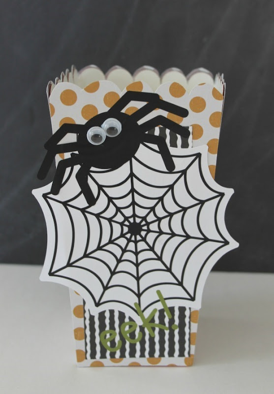 spider box for popcorn