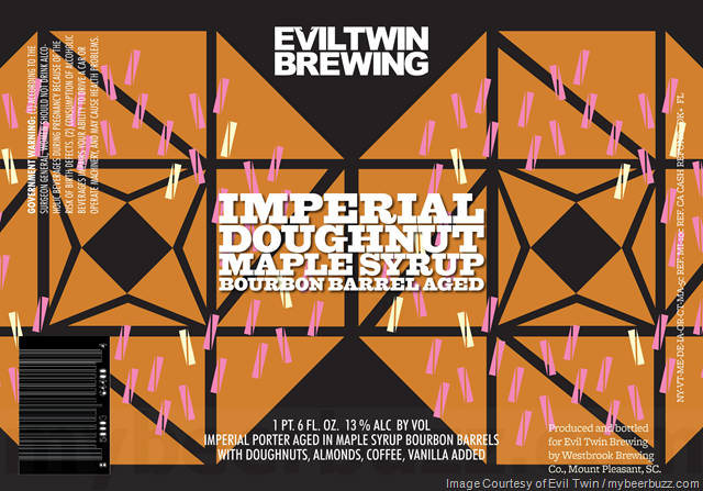 Evil Twin - Imperial Doughnut Maple Syrup Bourbon Barrel Aged Porter