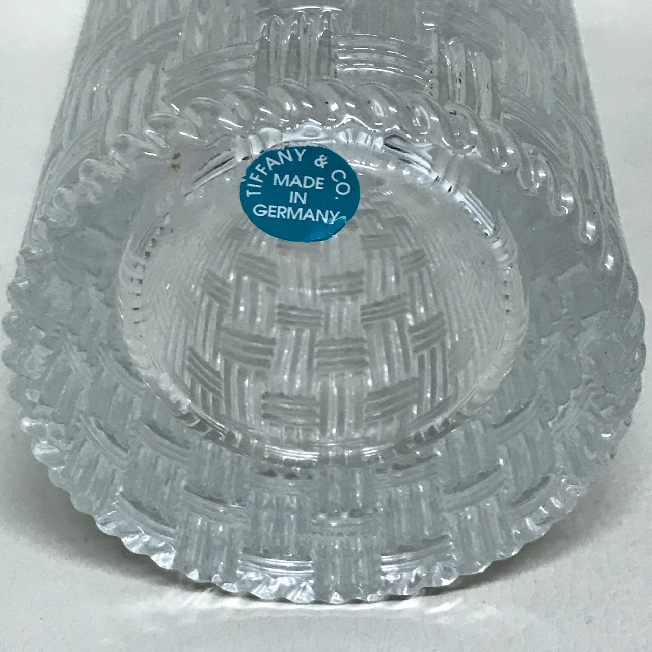 Tiffany co woven cylinder vase shophousingworks share it reviewsmspy