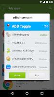 Screenshot of ADB Toggle