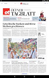 ot Oltner Tagblatt E-Paper screenshot 5