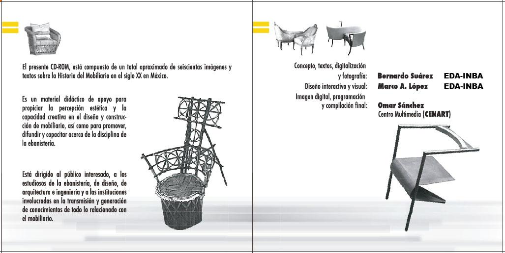 Historia del mobiliario del siglo xx en m xico for Caracteristicas del mobiliario