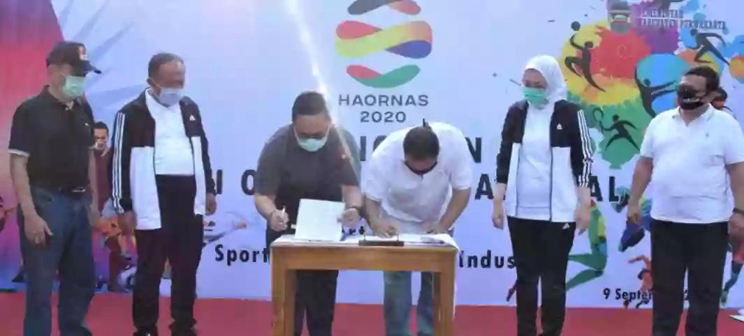 Peringati Haornas Ke-37 Pemkab Berkomitmen UntukMemajukan Olahraga di Purwakarta