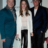 WWW.ENTSIMAGES.COM -  Maximiliano Centini, Rosie Fortescue and Nick Ede   at     JustFab current  and future fashion trends event at The Millennium Hotel, 44 Grosvenor Square, London June 12th 2013                                                   Photo Mobis Photos/OIC 0203 174 1069