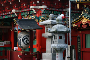 Lanterns, Kanda Myojin Shrine