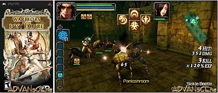 Warriors of the Lost Empire – USA PSP Download