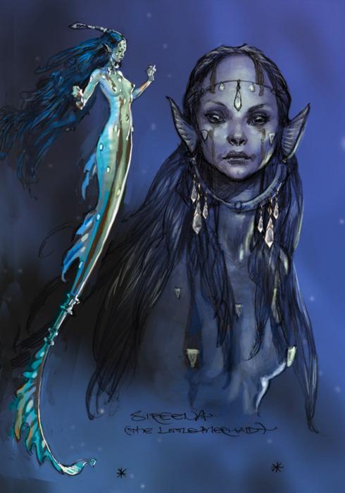 Iain Mccaig The Little Mermaid, Undines