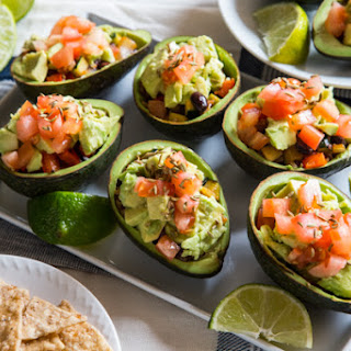 Smoky Southwestern Avocado Cups
