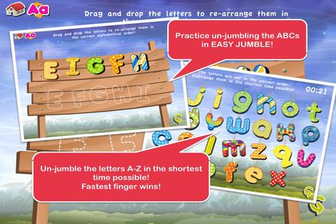 Alphabet Jumbled Easy Jumble