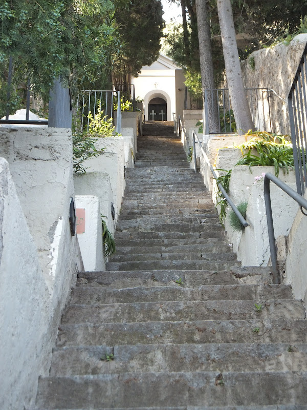 Cimetiere, Praiano, Costiera Amalfitana, Italie, Travel, Voyages, TravelBlogger