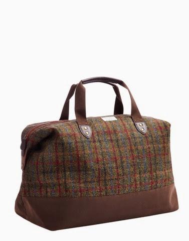 The Harringworth Harris Tweed Weekend bag by Joules