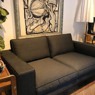 Calligaris + Bernhardt & Vella Square Sofa