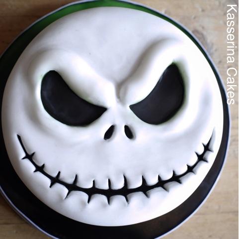 Kasserina Jack Skellington Halloween cake Oct 15