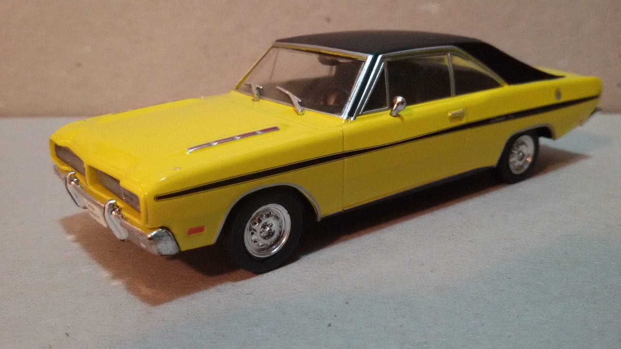 Diecast American Car Nutz 1975 Dodge Dart Se And Charger R T 1949 Brazil 143