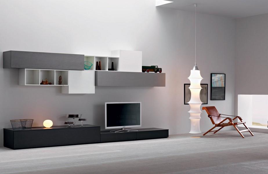Soggiorni e salotti moderni arredo per la tua casa for Pareti casa moderna