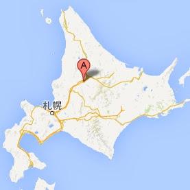 ベローズ フィールド ビーチ・地図