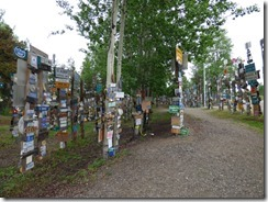 Sign Post Forest, Alaska Highway