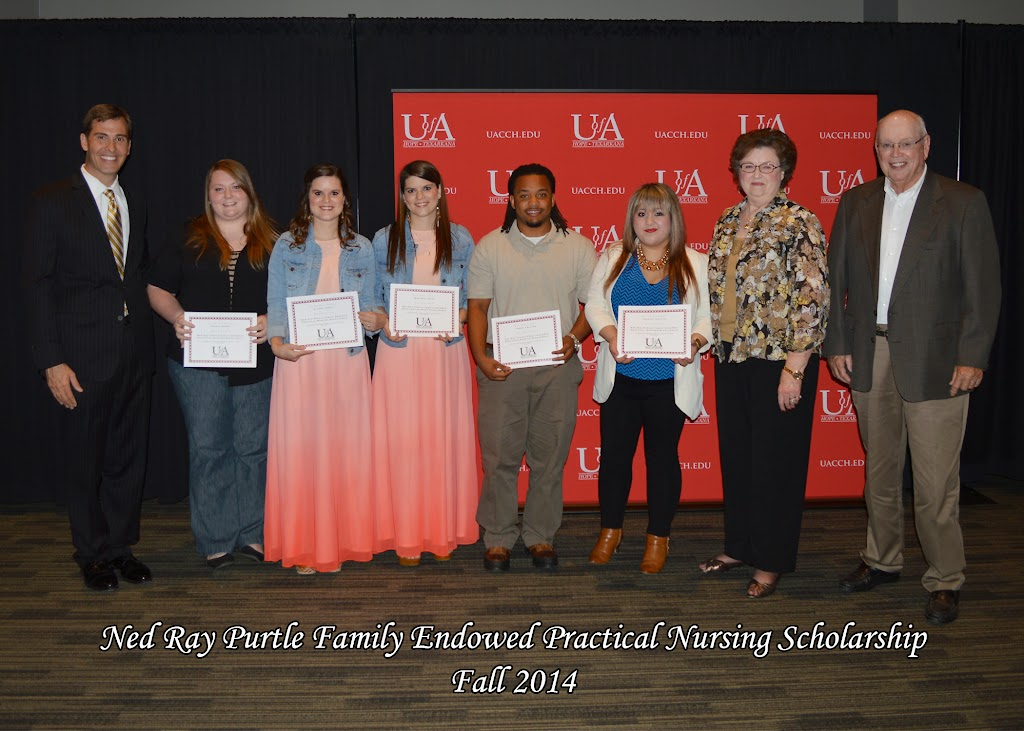 Scholarship Awards Ceremony Fall 2014 - Ned%2BRay%2BPurtle%2BNursing.jpg