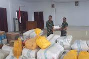 Peduli Kemanusiaan, Kodim 1412/Kolaka Salurkan Bantuan Korban Bencana Gempa di Sulbar