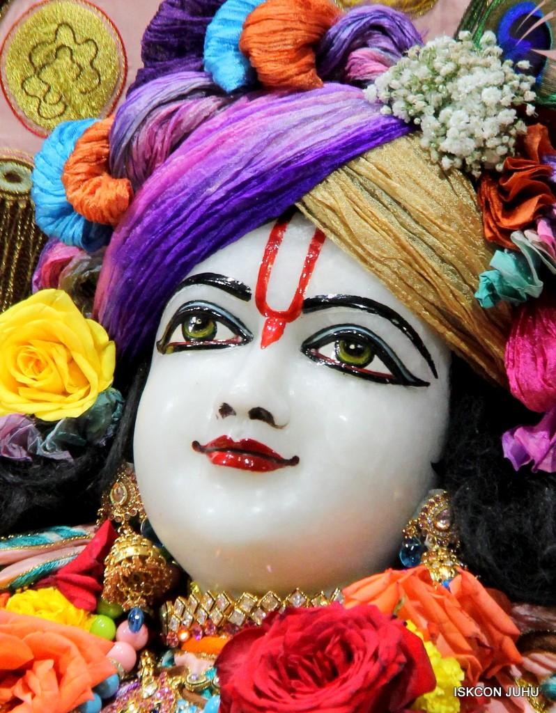 ISKCON Juhu Sringar Deity Darshan 10 Jan 2017 (66)