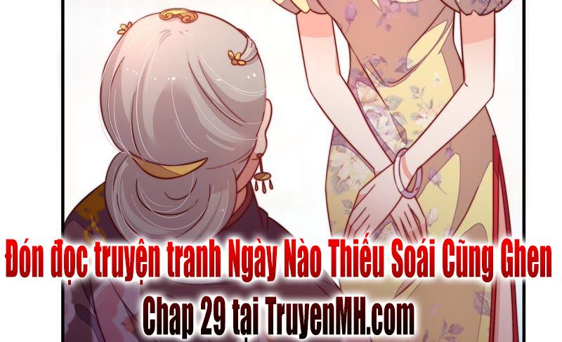 Ngày Nào Thiếu Soái Cũng Ghen Chapter 28 - Truyenmoi.xyz