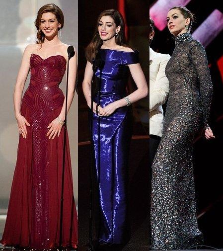 Anne Hathaway Oscar Award: Beauty And Elegance: Anne Hathaway