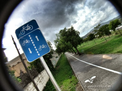 carril bici carretera de Valldemossa