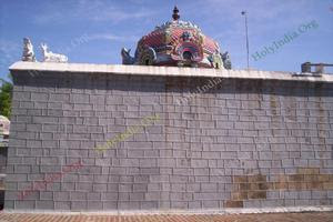 Thalaichangadu Temple Main Shrine Vimanam