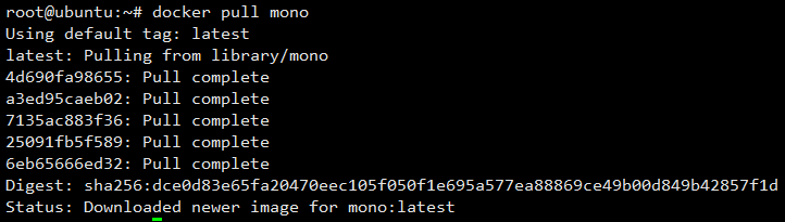 Pull Mono Image