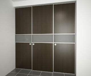 Orbis home closets modulares puertas para closets for Puertas corredizas para closet