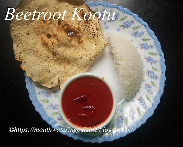 Beetroot Kootu