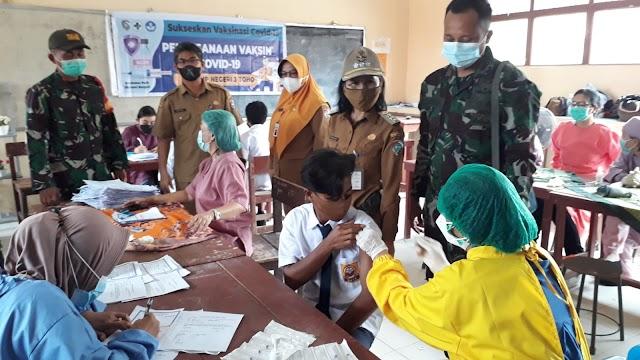 Gebyar Vaksinasi di Kecamatan Toho Diikuti 937 Peserta