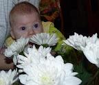 Наш цветочек :) Два месяца, 18 дней