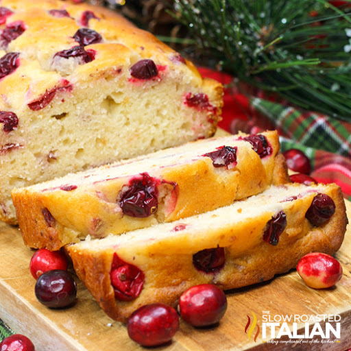 Super Quick Cranberry Orange Bread