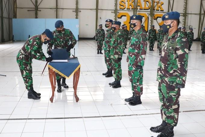 Danwingdiktek Pimpin Sertijab Dua Kepala Dinas  Kalijati.