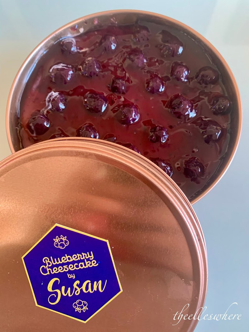 Blueberry Cheesecake by Susan