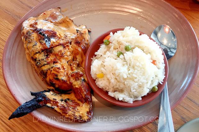 Nando's Menu Lunch