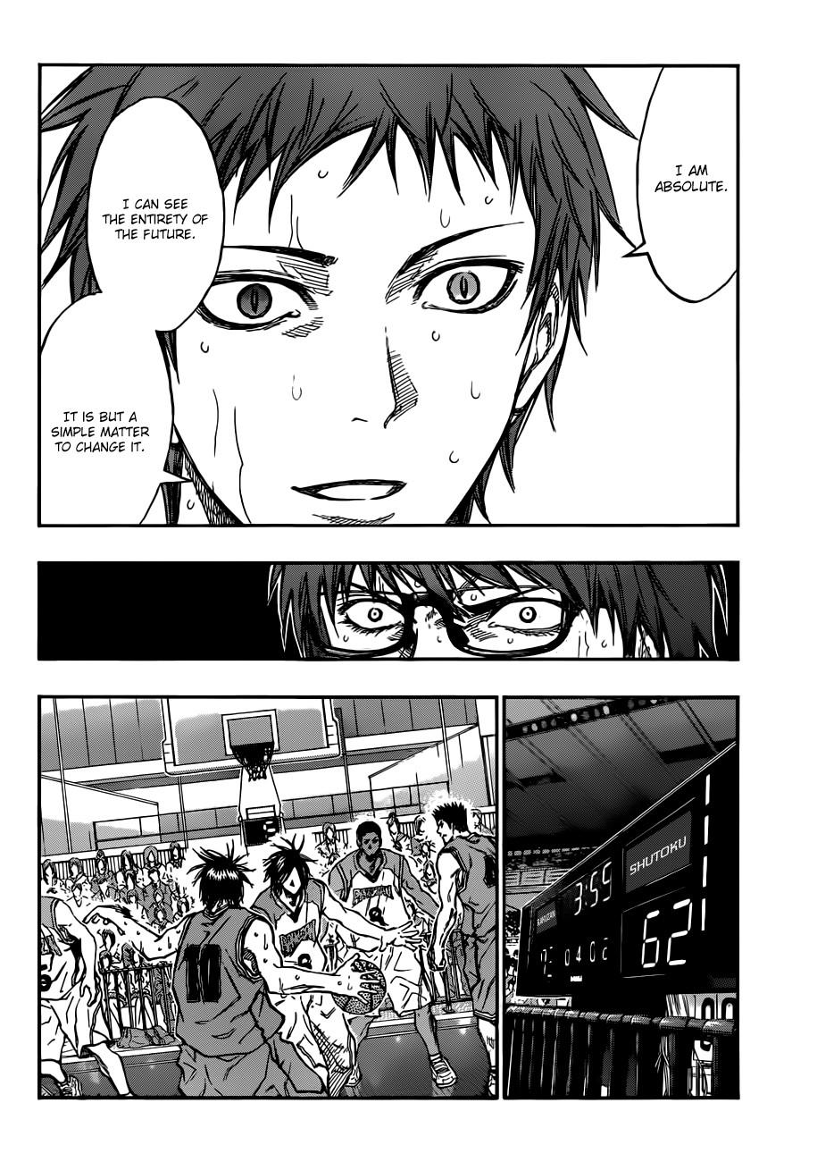 Kuroko no Basket Manga Chapter 182 - Image 02